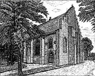 St John's Church in 1948
